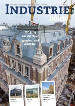 cover Industriebouw, editie 40, maart 2018