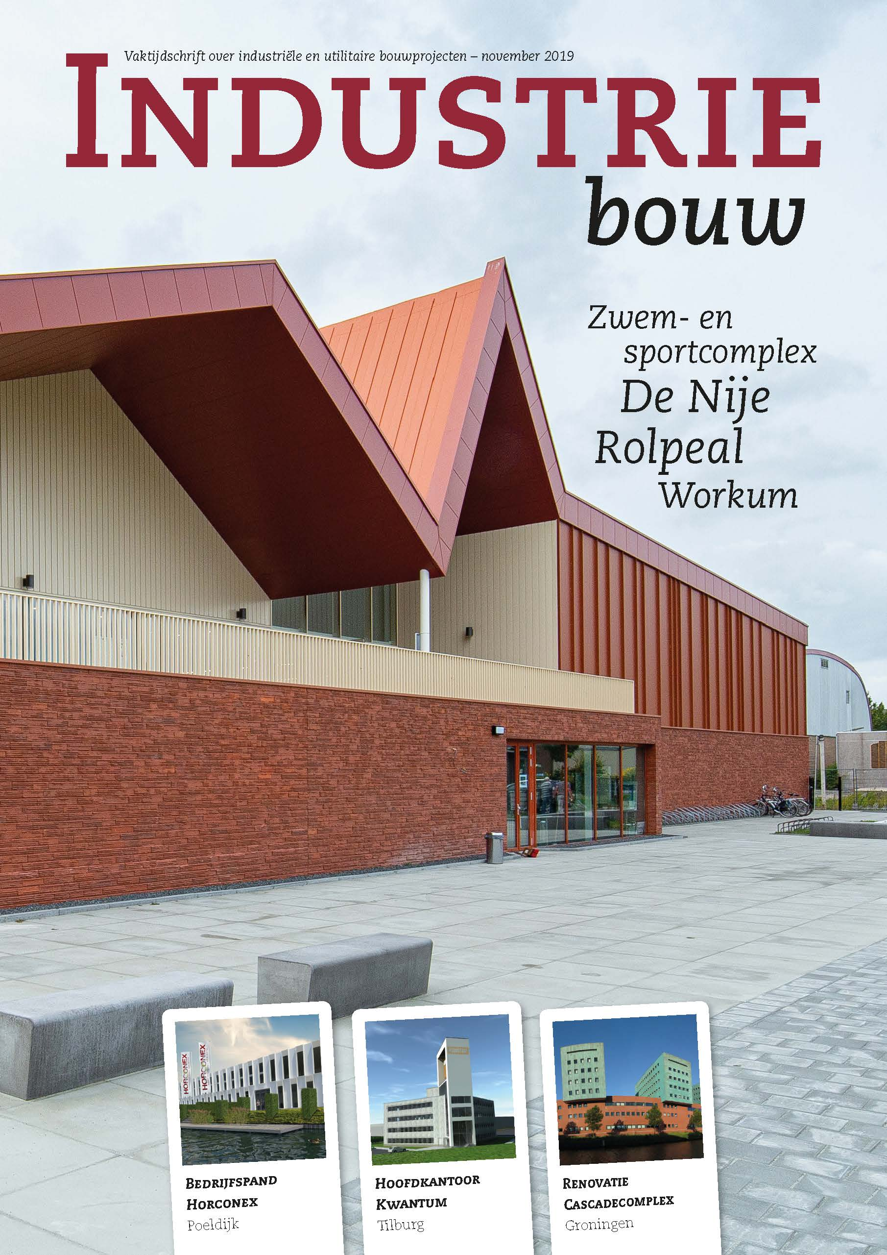 cover Industriebouw, editie 57, november 2019