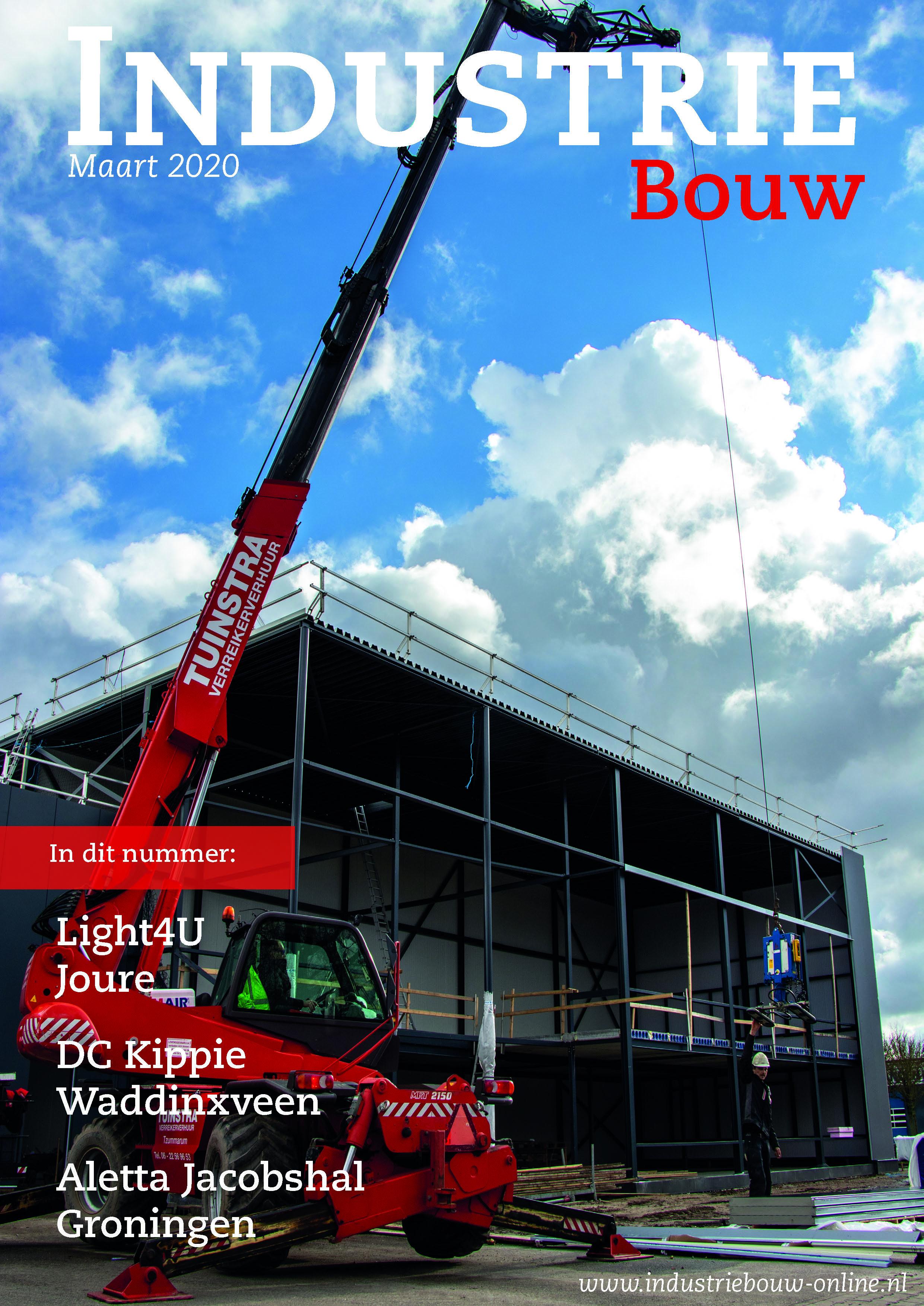 cover Industriebouw, editie 61, maart 2020