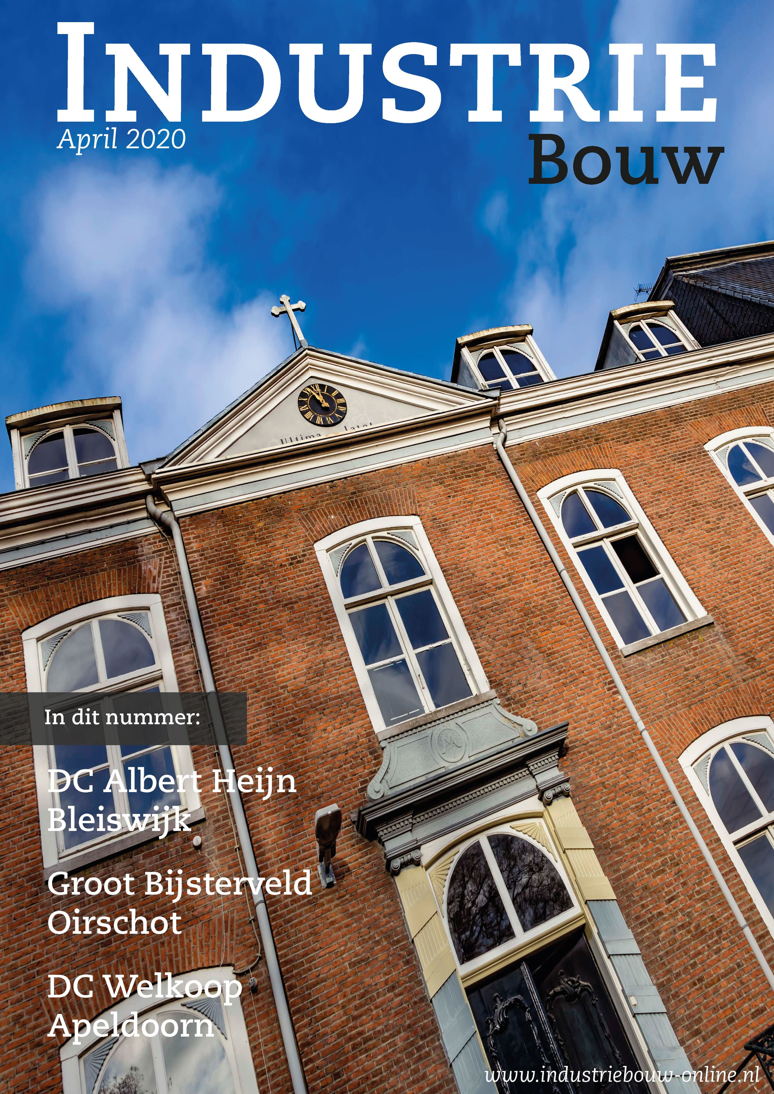 cover Industriebouw, editie 62, april 2020