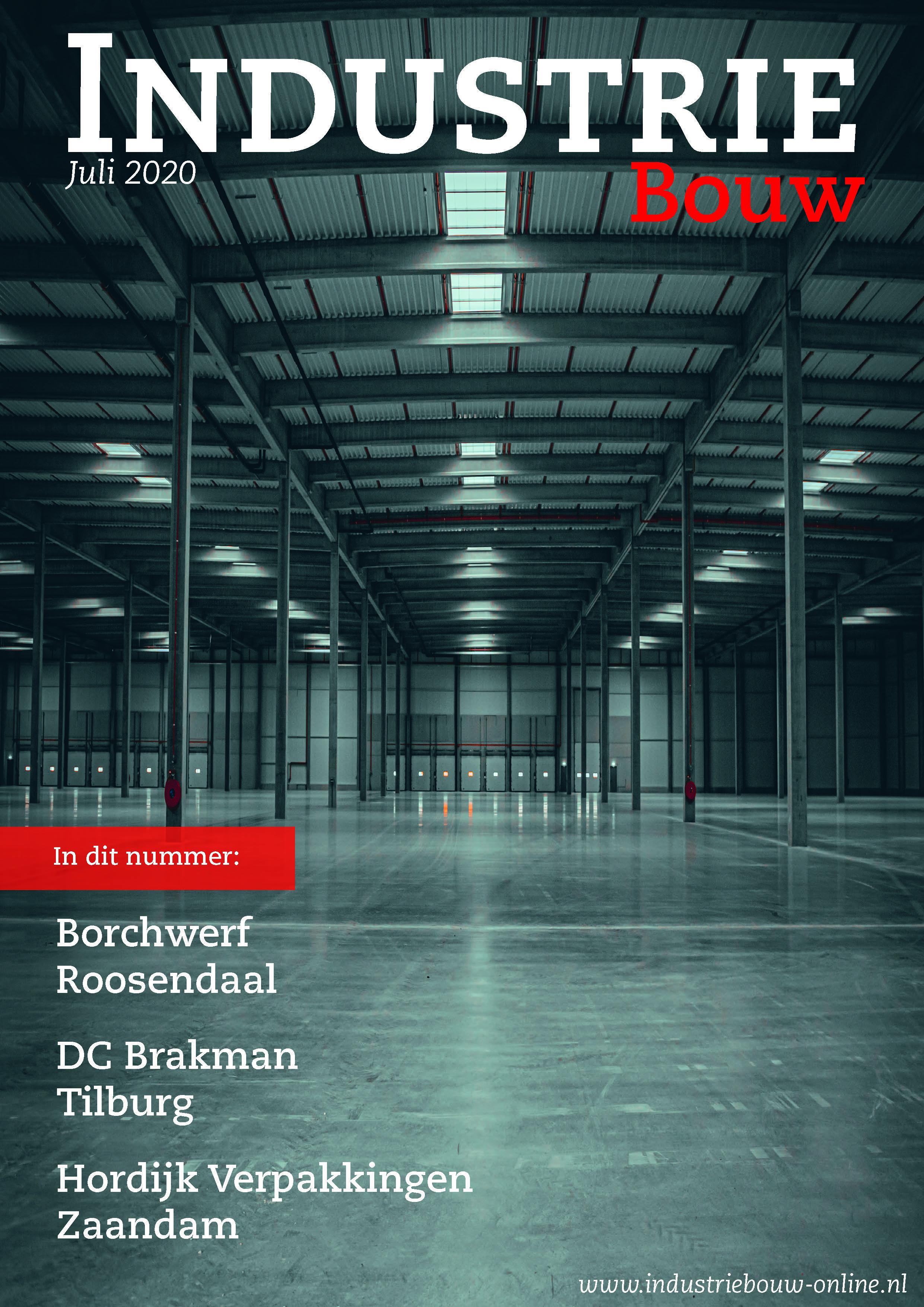 cover Industriebouw, editie 65, juli 2020