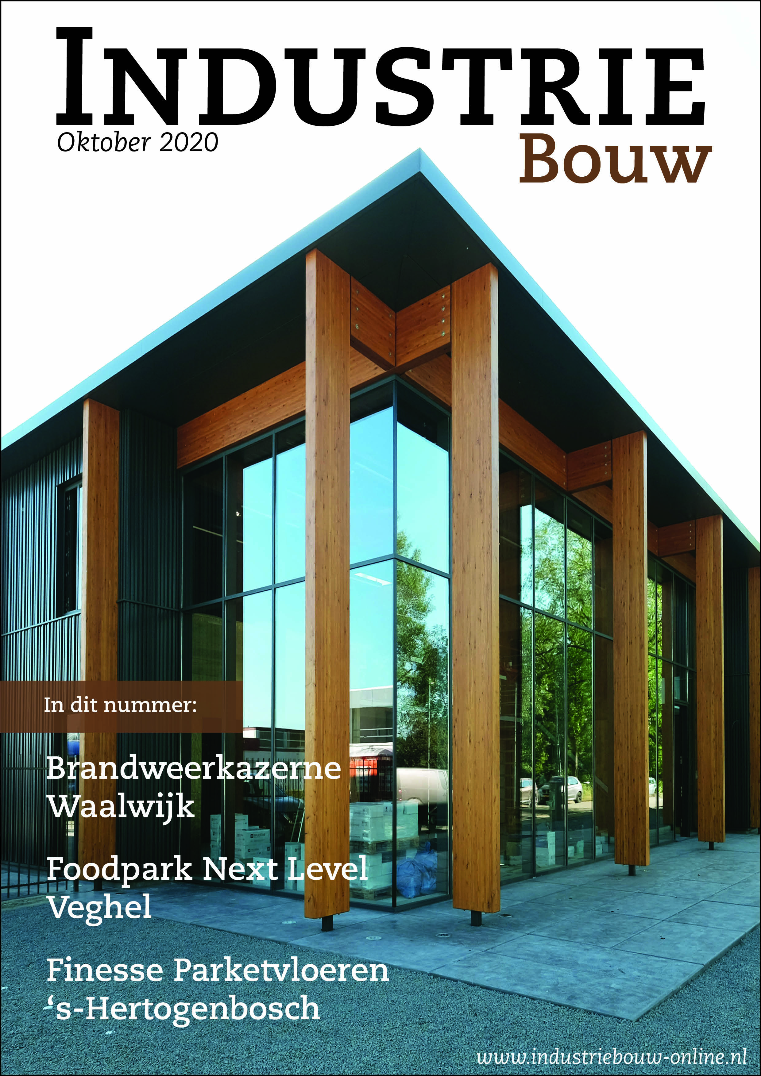 cover Industriebouw, editie 66, oktober 2020
