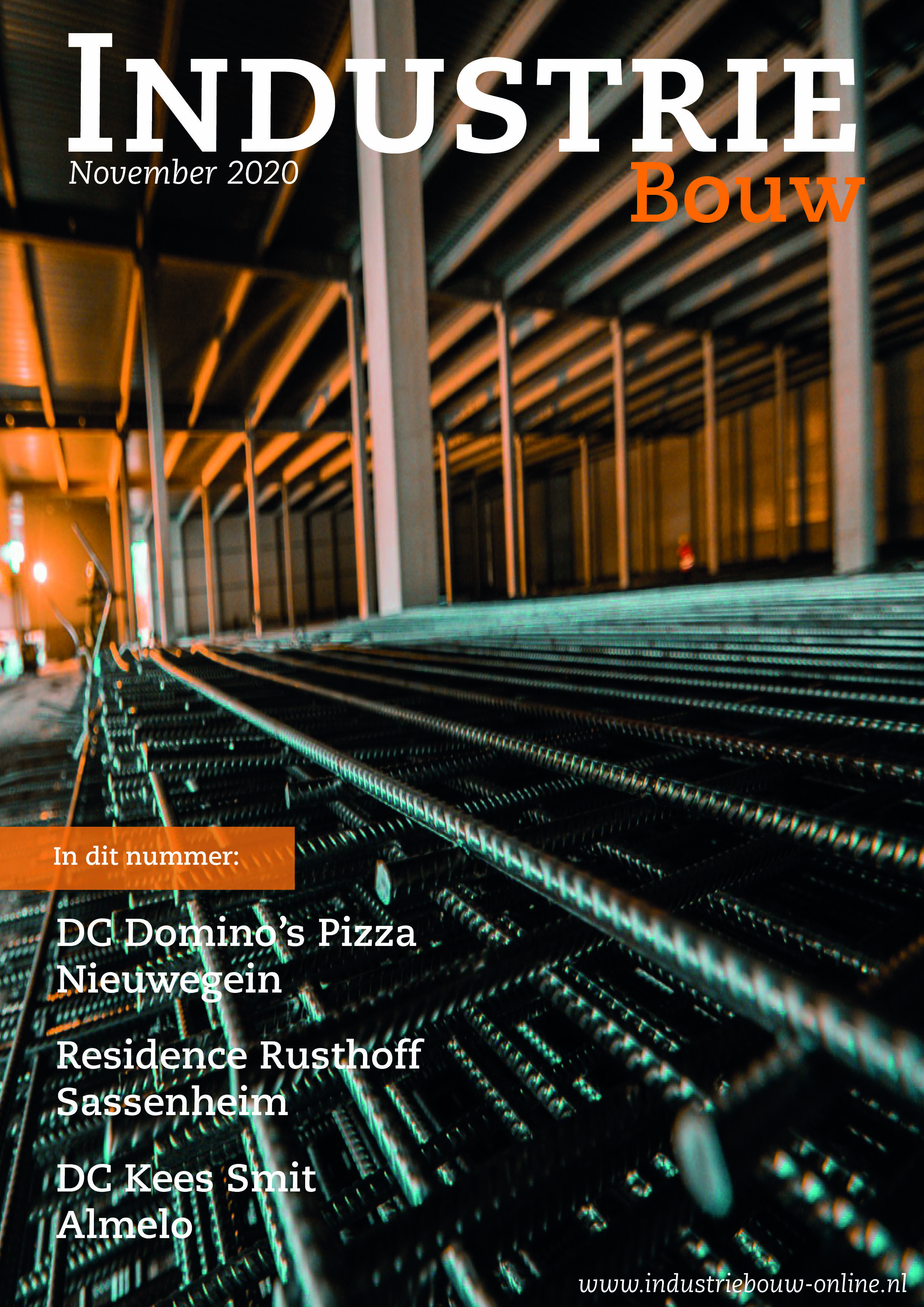 cover Industriebouw, editie 67, november 2020