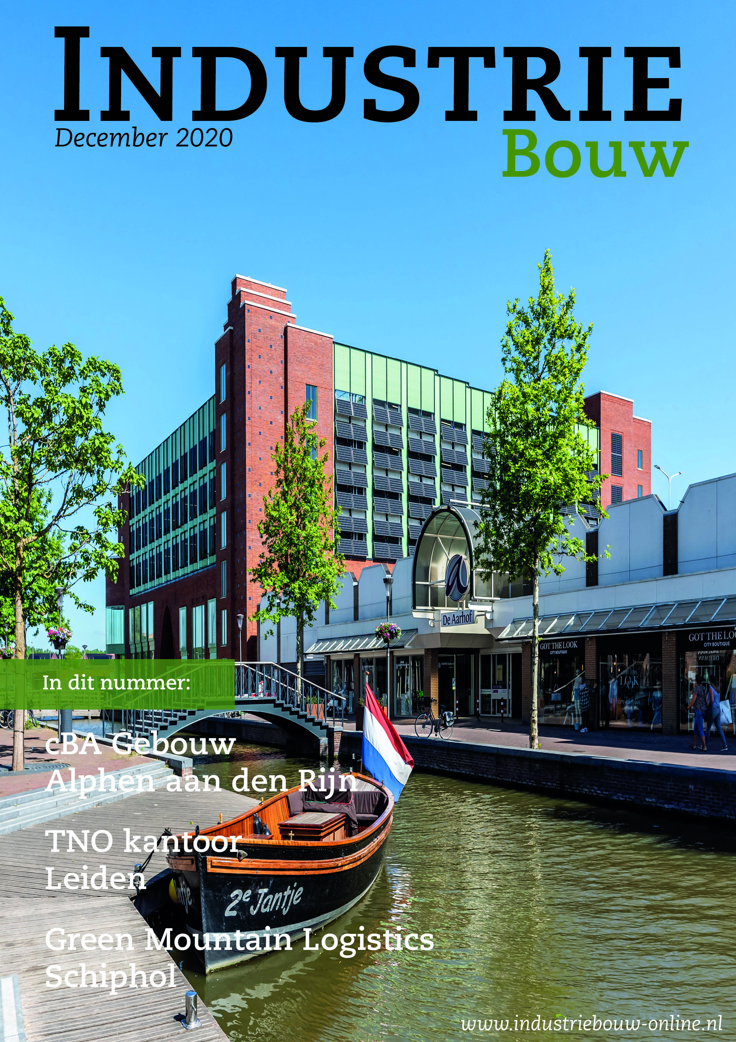 cover Industriebouw, editie 68, december 2020