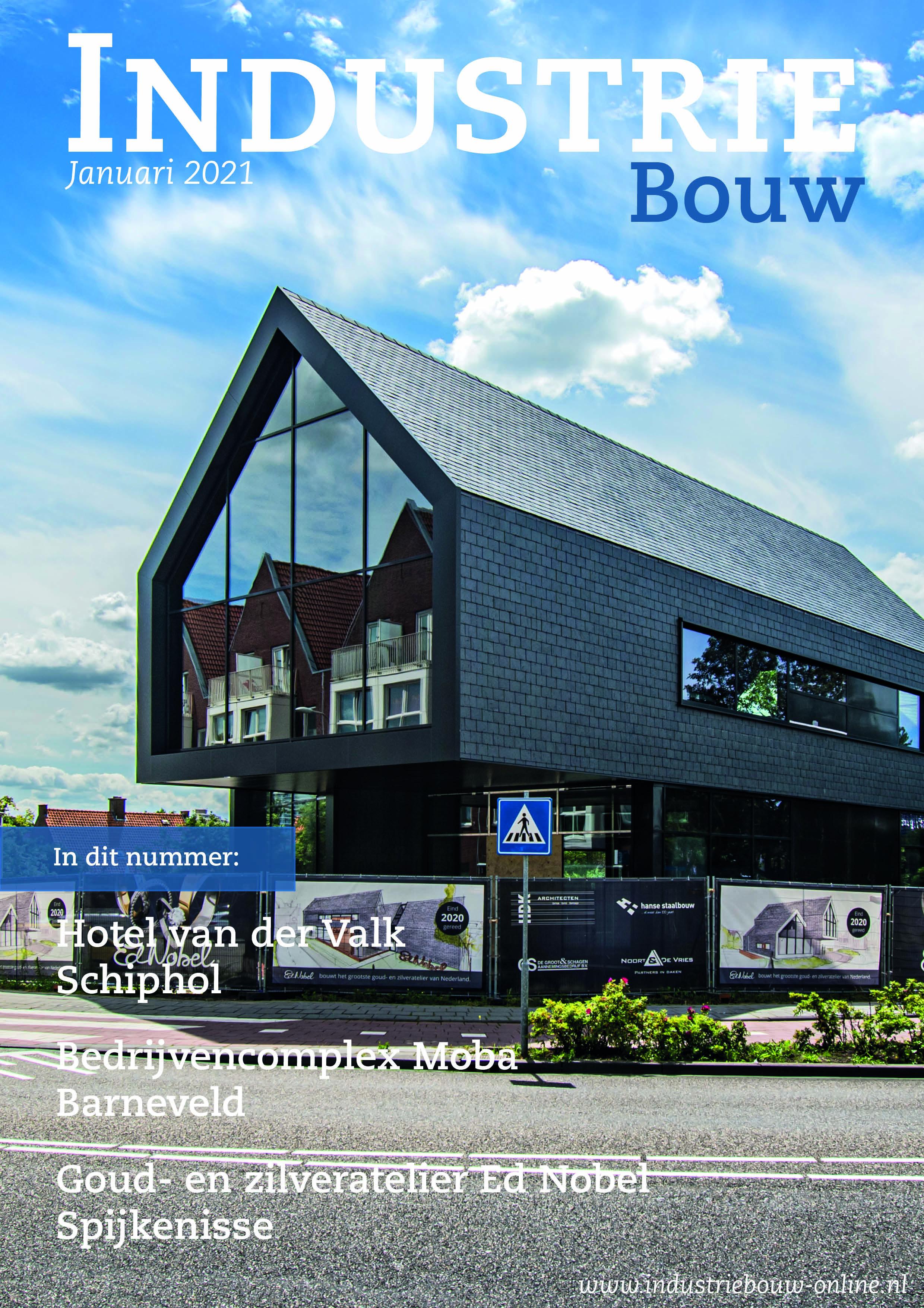 cover Industriebouw, editie 69, januari 2021