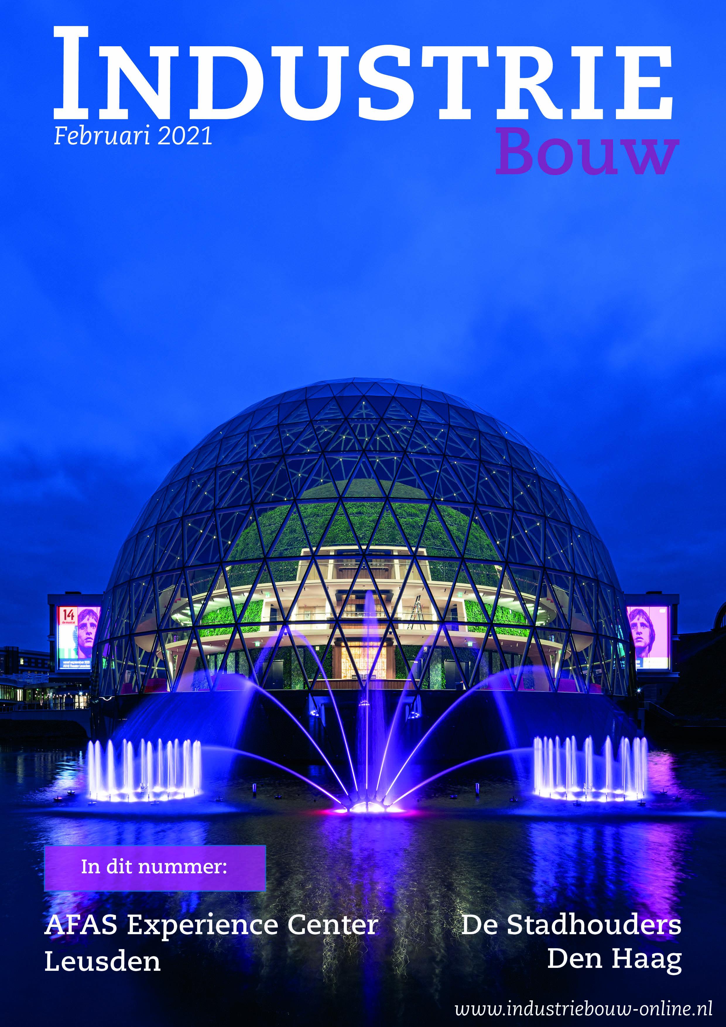 cover Industriebouw, editie 70, februari 2021