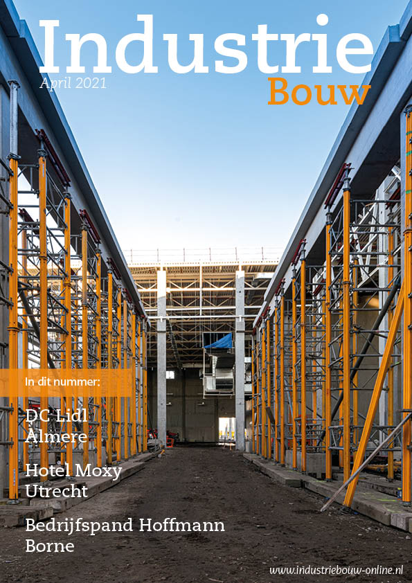cover Industriebouw, editie 72, april 2021