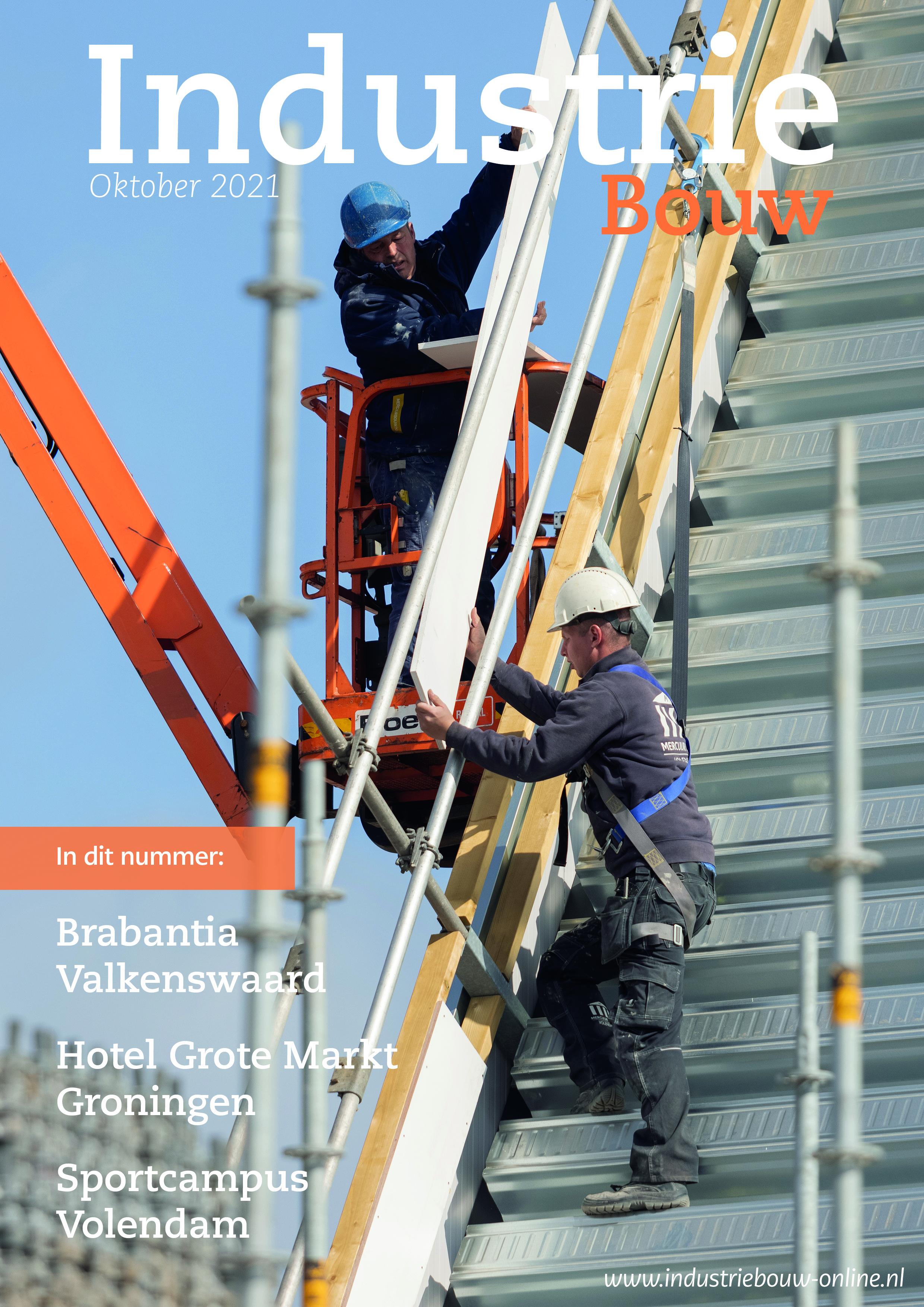 Industriebouw editie 77, oktober 2021
